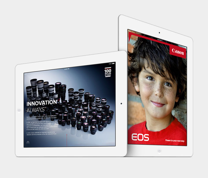 Canon digital magazine