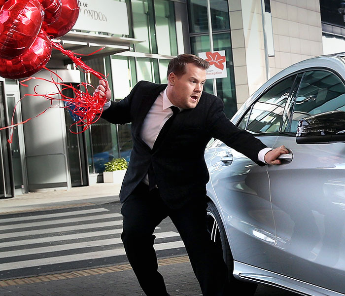 James Corden x Mercedes-Benz #CLAstory